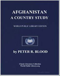 Afghanistan, A Country Study by Blood, Peter R.