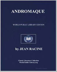 Andromaque by Racine, Jean Baptiste