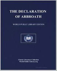 The Declaration of Arbroath by