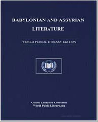 Babylonian and Assyrian Literature by