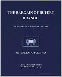 The Bargain of Rupert Orange by Osullivan, Vincent