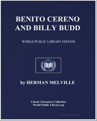 Benito Cereno and Billy Budd by Melville, Herman