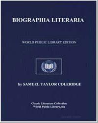 Biographia Literaria by Coleridge, Samuel Taylor