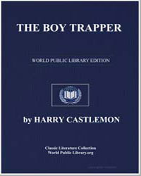 The Boy Trapper by Castlemon, Harry