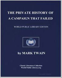 The Private History of a Campaign That F... by Twain, Mark