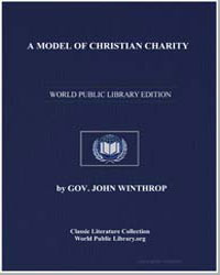 A Model of Christian Charity by Winthrop, Gov. John