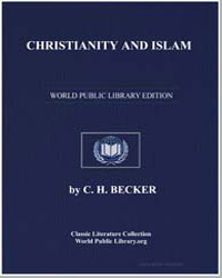 Christianity and Islam by Becker, C. H.