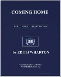 Coming Home by Wharton, Edith