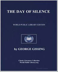The Day of Silence by Gissing, George