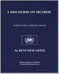 A Discourse on Method by Descartes, René