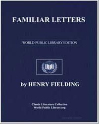 Familiar Letters by Fielding, Henry