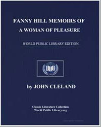 Fanny Hill Memoirs of a Woman of Pleasur... by Cleland, John