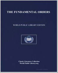 The Fundamental Orders by