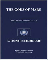 The Gods of Mars by Burroughs, Edgar Rice