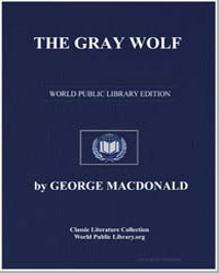 The Gray Wolf by Macdonald, George