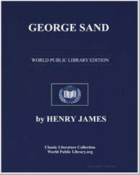 George Sand by James, Henry
