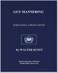 Guy Mannering by Scott, Walter, Sir