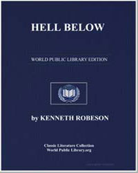 Hell Below by Robeson, Kenneth