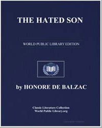The Hated Son by De Balzac, Honore