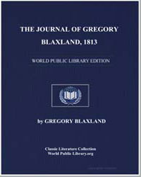 The Journal of Gregory Blaxland, 1813 by Blaxland, Gregory