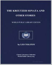 The Kreutzer Sonata and Other Stories by Tolstoy, Leo Nikoleyevich
