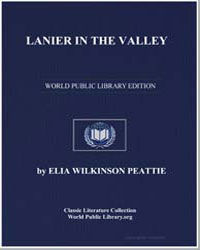 Lanier in the Valley by Peattie, Elia Wilkinson