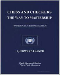 Chess and Checkers : The Way to Mastersh... by Lasker, Eduard