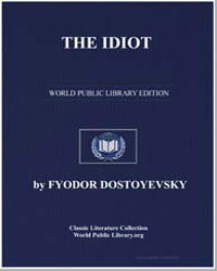The Idiot by Dostoevsky, Fyodor