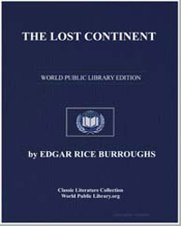 The Lost Continent by Burroughs, Edgar Rice