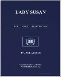 Lady Susan by Austen, Jane