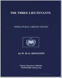 The Three Lieutenants by Kingston, William Henry Giles
