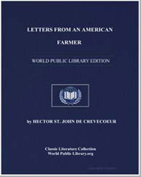 Letters from an American Farmer by De Crevecoeur, Hector St. John
