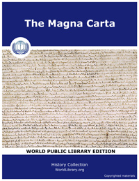 The Magna Carta by Hutchinson, Joshua