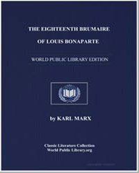 The Eighteenth Brumaire of Louis Bonapar... by Marx, Karl