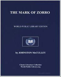 The Mark of Zorro by Mcculley, Johnston