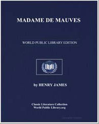Madame de Mauves by James, Henry