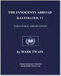 The Innocents Abroad, Illustrated, V1 by Twain, Mark