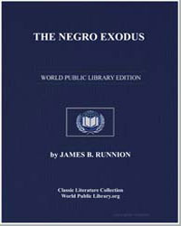 The Negro Exodus by Runnion, James B.