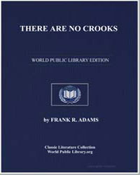 There Are No Crooks by Adams, Frank R. (Frank Ramsay)