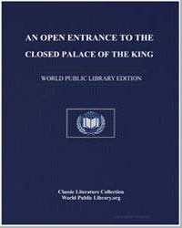 An Open Entrance to the Closed Palace of... by