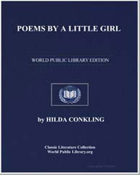 Poems by a Little Girl by Conkling, Hilda
