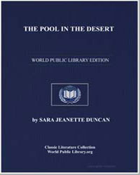 The Pool in the Desert by Duncan, Sara Jeannette