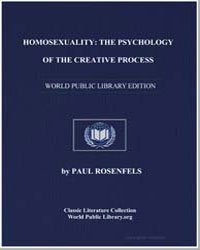 Homosexuality : The Psychology of the Cr... by Rosenfels, Paul