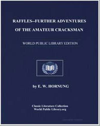 Raffles : Further Adventures of the Amat... by Hornung, Ernest William