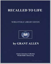 Recalled to Life by Allen, Grant