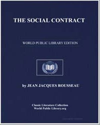 The Social Contract, Or Principles of Po... by Rousseau, Jean Jacques