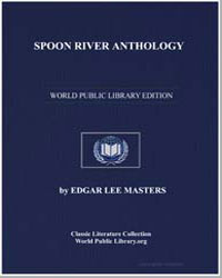 Spoon River Anthology by Masters, Edgar Lee