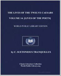 The Lives of the Twelve Caesars, Volume ... by Tranquillus, C. Suetonius