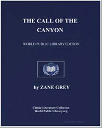 The Call of the Canyon by Grey, Zane