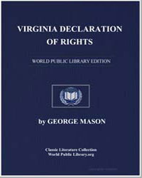 Virginia Declaration of Rights and Cardi... by Mason, George